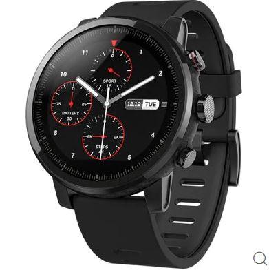 Xiaomi Amazfit Stratos Pace 2 Smartwatch Global International Version - BLACK