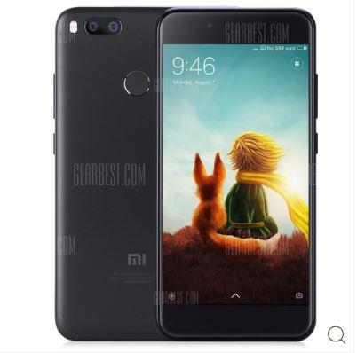 XIAOMI Mi A1 4G Phablet 4GB RAM Global Version - BLACK