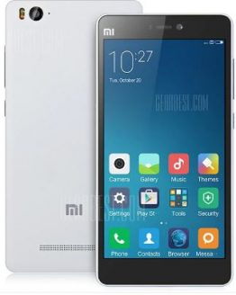 XIAOMI Mi4C 4G Smartphone - WHITE