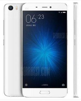 Xiaomi Mi5 4G Smartphone - WHITE GLOBAL VERSION