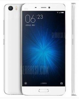 Xiaomi Mi5 64GB 4G Smartphone - WHITE INTERNATIONAL VERSION