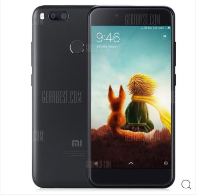 Xiaomi Mi 5X 64GB ROM 4G Phablet - BLACK