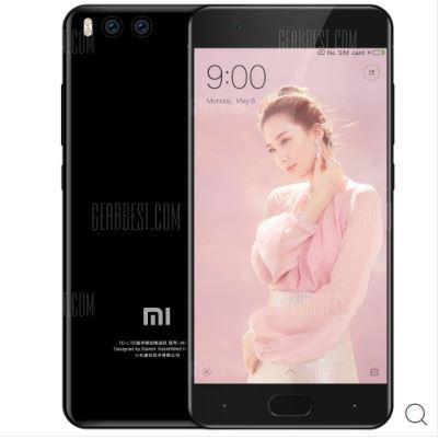 Xiaomi Mi 6 4G Smartphone International Version - BLACK