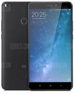 Xiaomi Mi Max 2 4G Phablet - BLACK GLOBAL VERSION 4GB RAM 64GB ROM