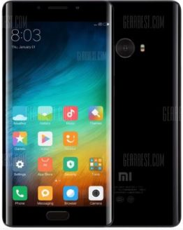 Xiaomi Mi Note 2 4G Phablet - BLACK 6GB RAM 128GB ROM