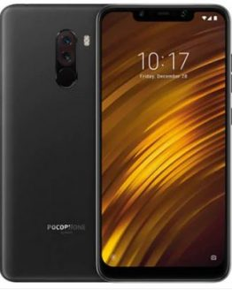 Xiaomi Pocophone F1 6.18 inch 4G Phablet Global Version - GRAPHITE BLACK 6+128GB