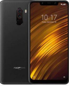 Xiaomi Pocophone F1 6GB RAM 4G Phablet Global Version - GRAPHITE BLACK