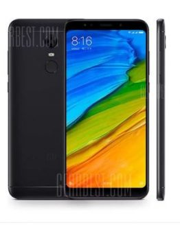 Xiaomi Redmi 5 Plus Global Version 4G Phablet - BLACK