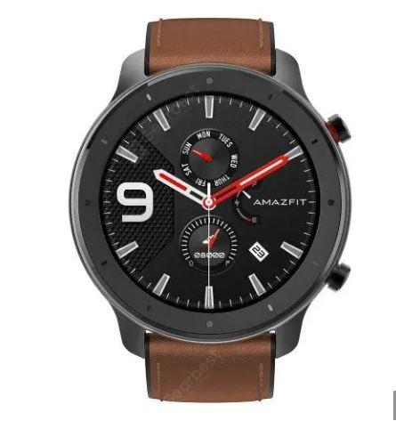 AMAZFIT GTR Smart Watch 12 Days Battery Life 5ATM Waterproof Global Version - Brown