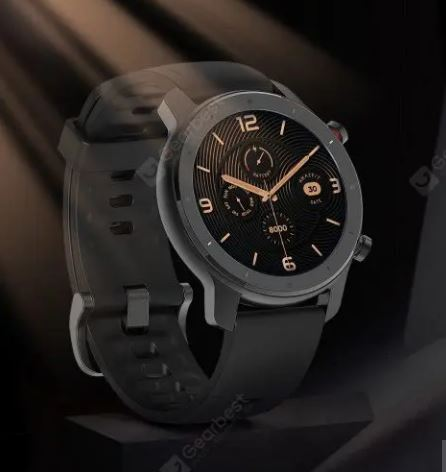 Amazfit GTR Lite 47mm Smartwatch 24 Days Battery Life 5ATM Waterproof AMOLED Screen - Black