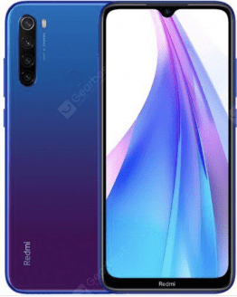 Xiaomi Redmi Note 8T 4G Smartphone 6.3 inch Snapdragon 665 Octa Core 4GB RAM 64 GB ROM Global Version - Blue