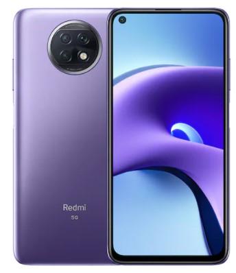 Xiaomi Redmi Note 9T 5G Smartphone 6.53 inch Media Tek Dimensity 800U Octa Core Rear Cameras 48MP + 2MP + 2MP Battery 5000mAh Global Version - Purple 4+64GB